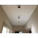 Прямой натяжной потолок