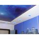 Двухуровневый натяжной потолок арт печать Н4.1