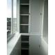 Шкаф алюминиевого балкона А4.2