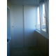 Шкаф алюминиевого балкона А4.1