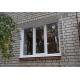 Установка трехстворчатого пластикового окна КУ2.2