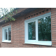 Установка металлического откоса пластикового окна КУ8.3